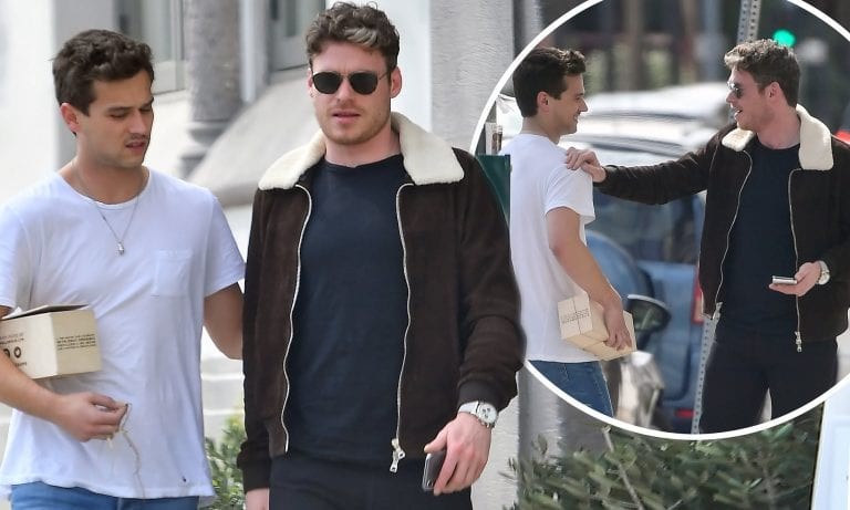 Richard Madden and Brandon Flynn
