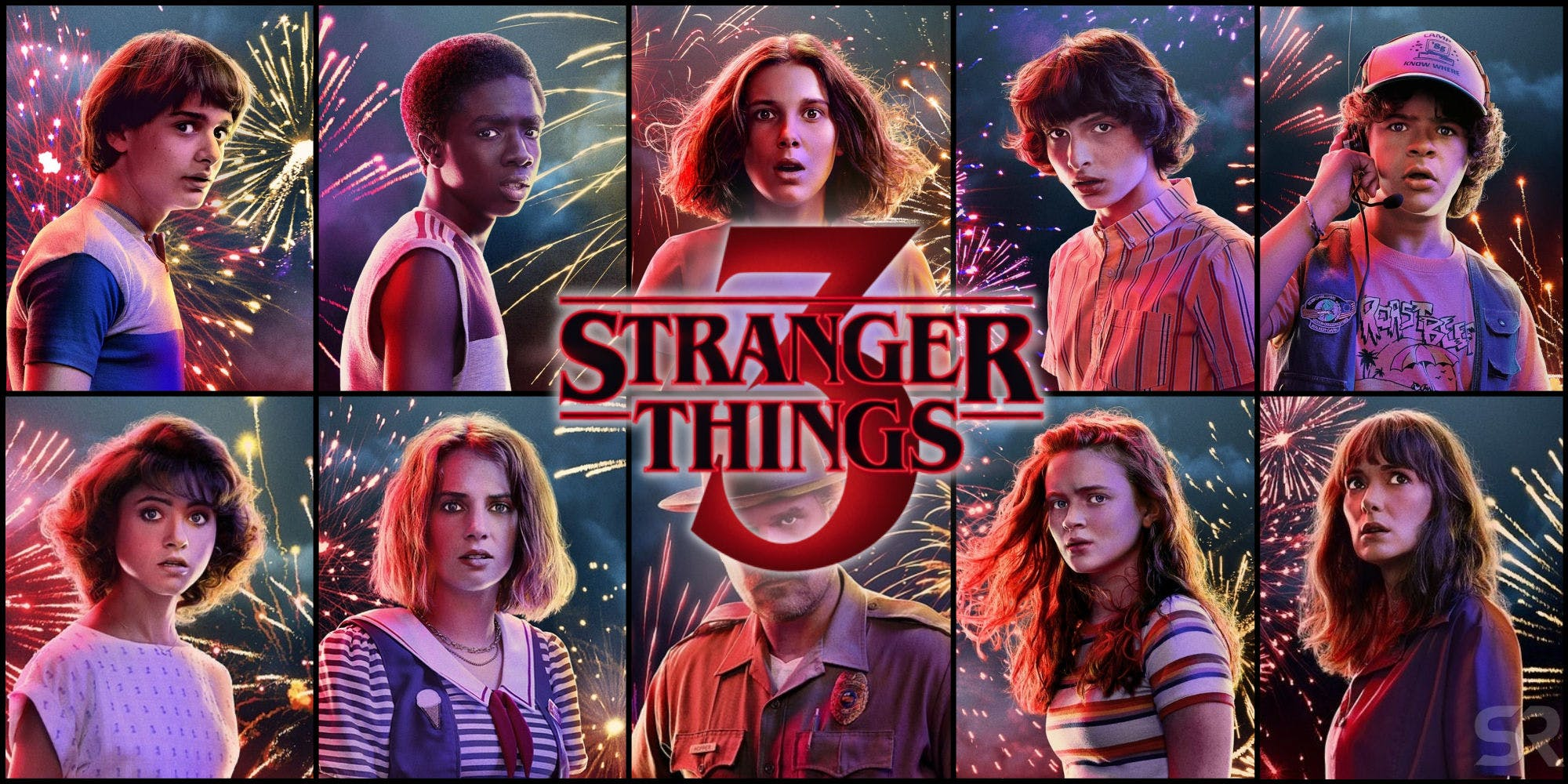 Index of Stranger Things Season 3 With Episode Duration And