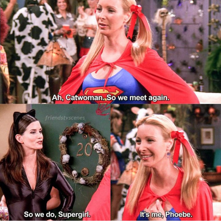 F.R.I.E.N.D.S Supergirl & Catwoman
