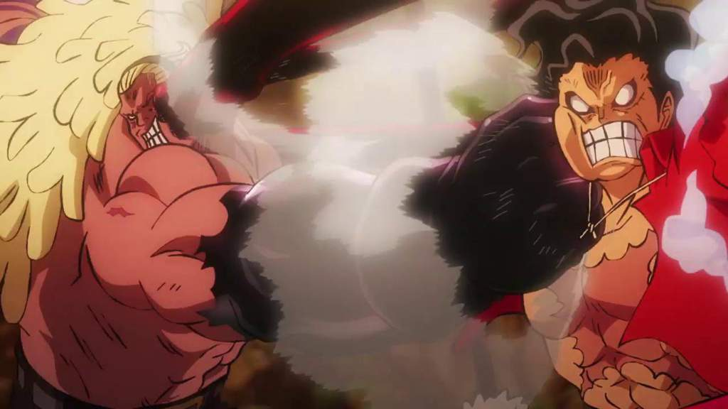 One Piece Stampede Luffy vs Bullet