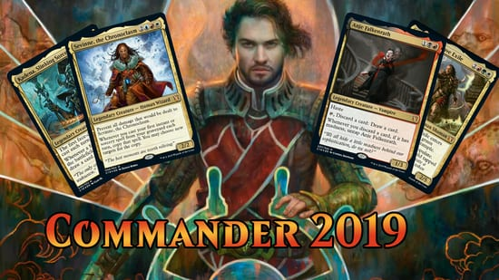 MTG Commander 2019 At Gen Con: Top Reveals - OtakuKart News