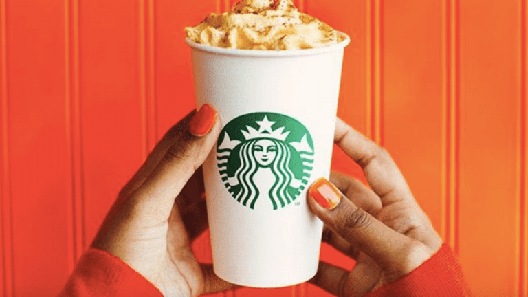 Starbucks Pumpkin Spice Latte 2019