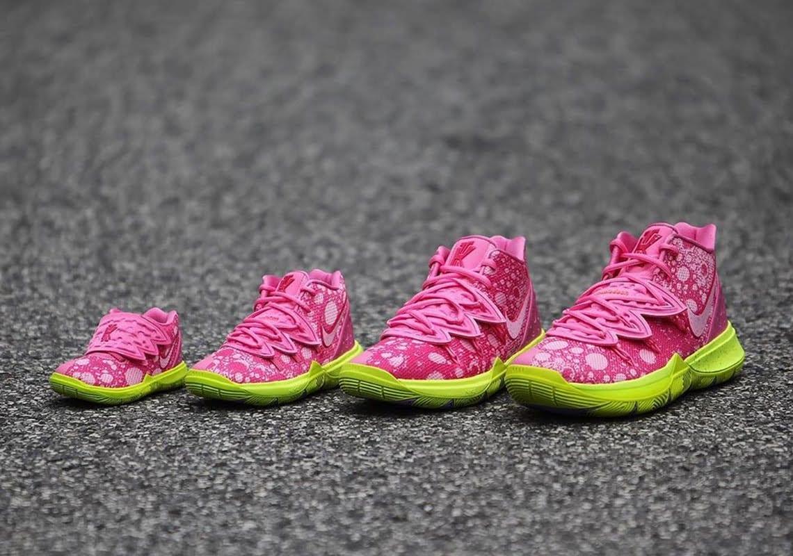 Kyrie SpongeBob Shoes Release