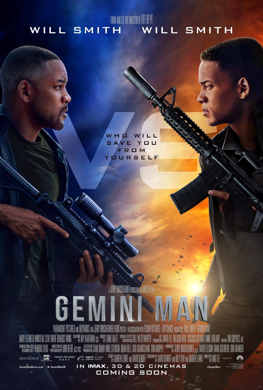 Gemini Man DVD update
