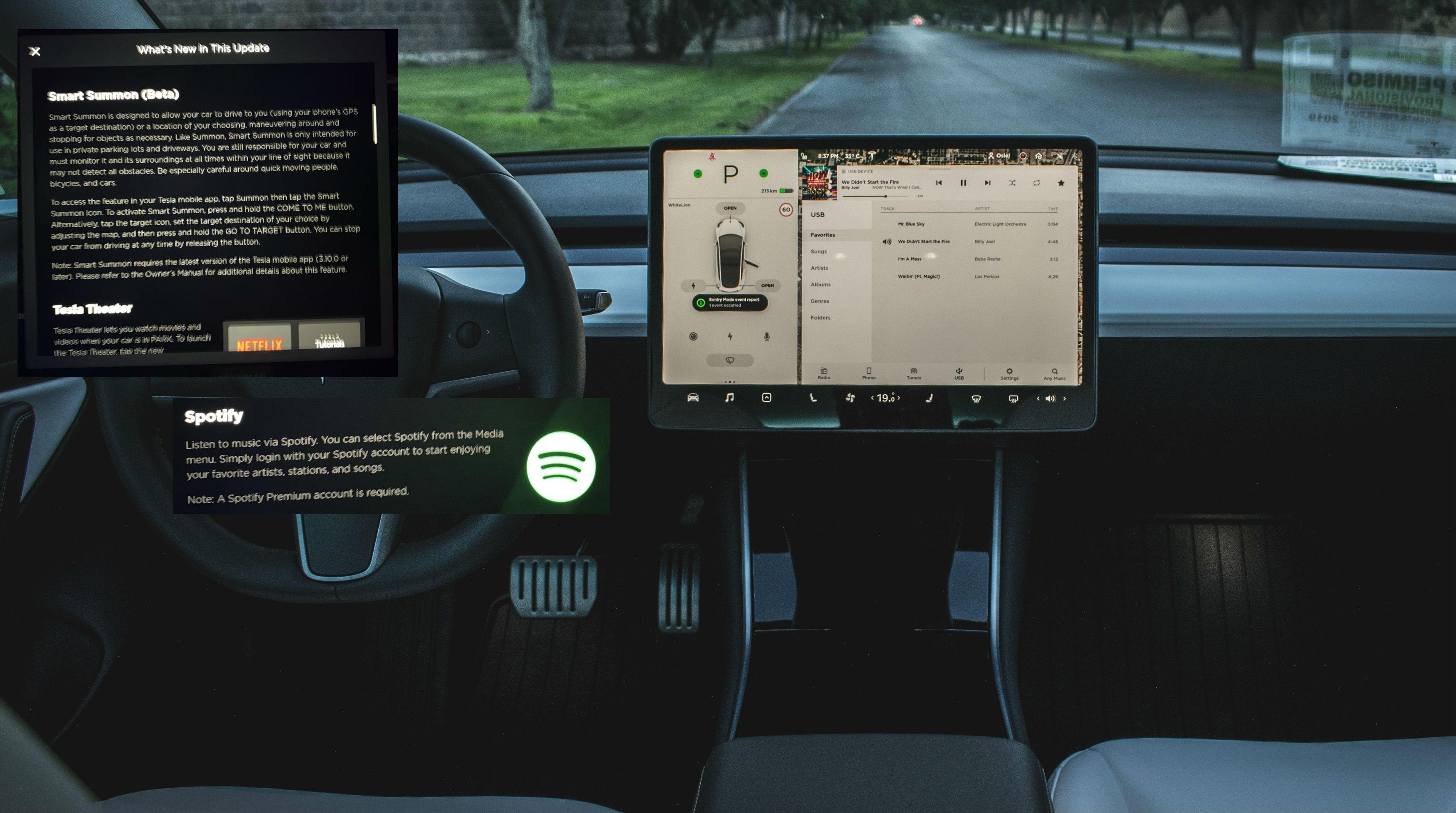 Tesla V10 Update update