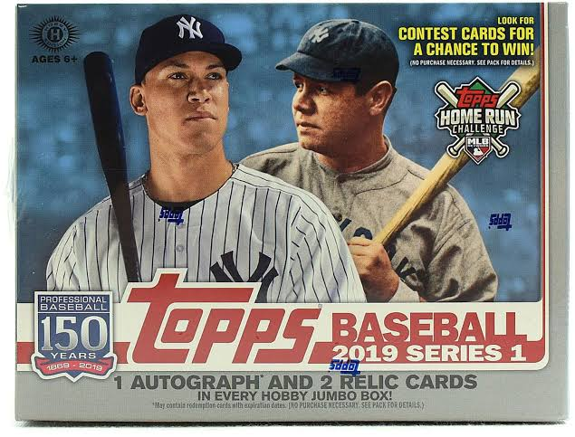 2019 Baseball Cards Release Date