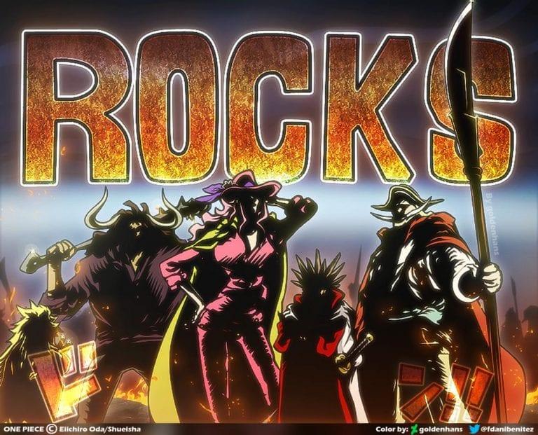 Rocks Pirates One Piece