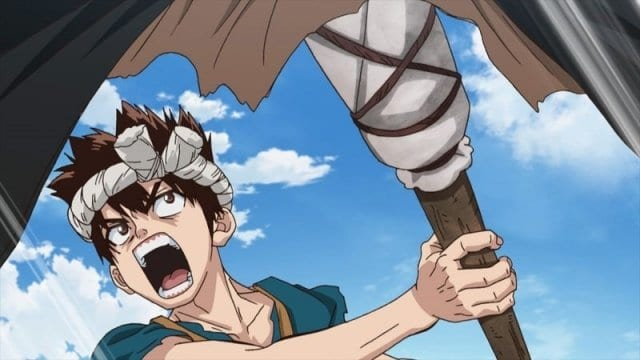 Dr. Stone Episode 14 Master of Flame