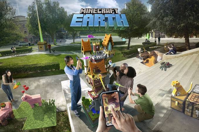Minecraft Earth Platforms