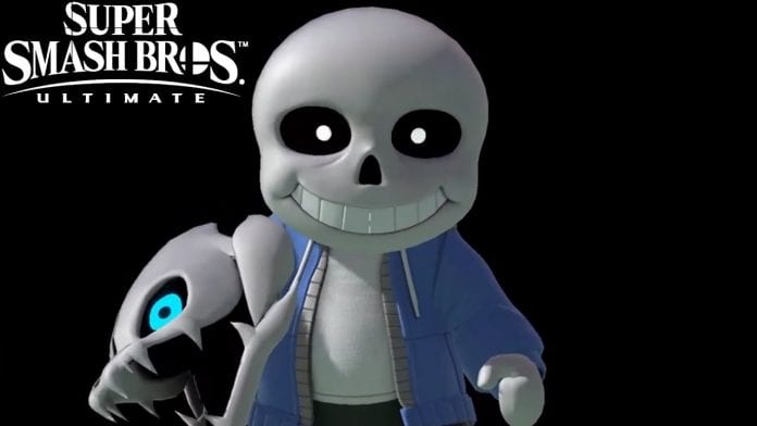 Sans Super Smash Bros.