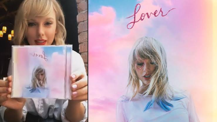 Taylor Swift Lover Vinyl update
