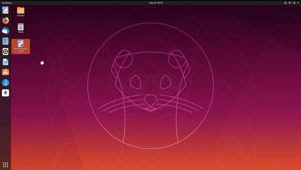 Ubuntu 19.10 update