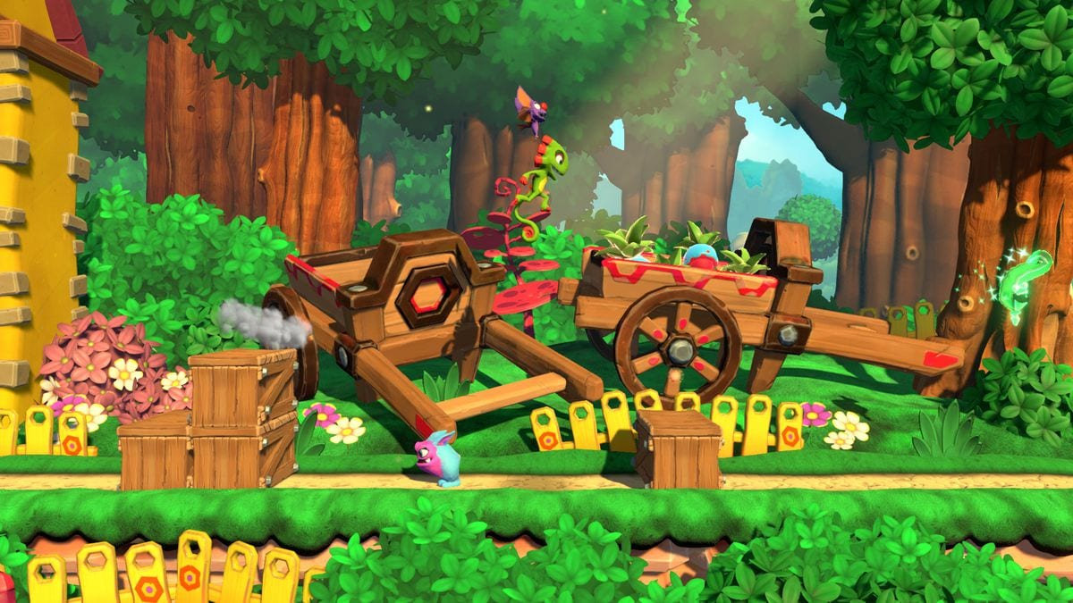 Yooka Laylee Impossible Lair Release Date