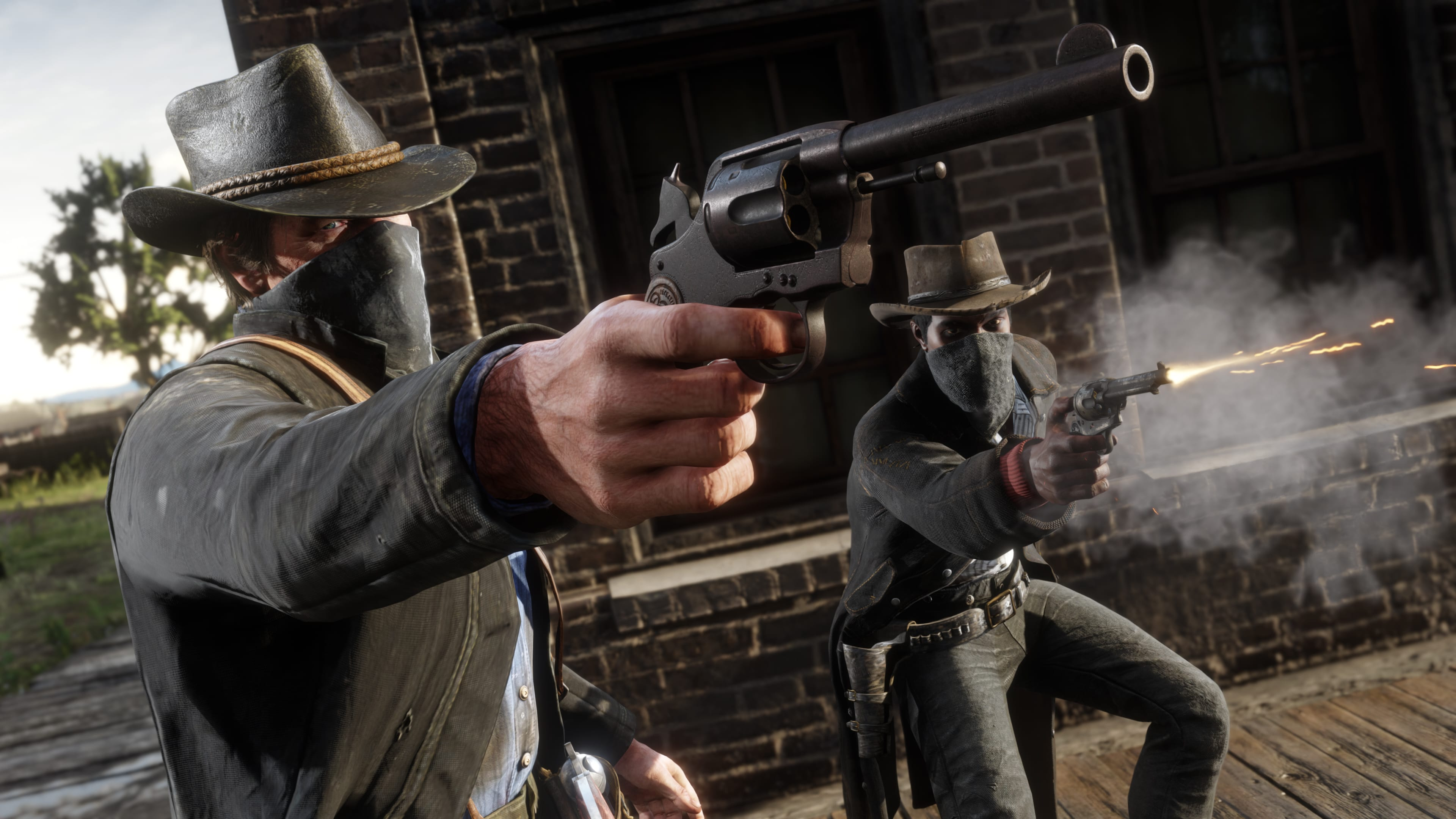 Red Dead Redemption 2 features
