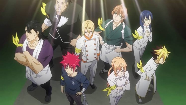 Shokugeki no Souma Season 4 Episode 9 update