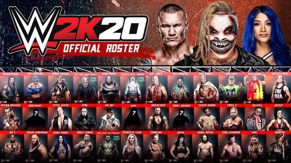 WWE 2K20 update