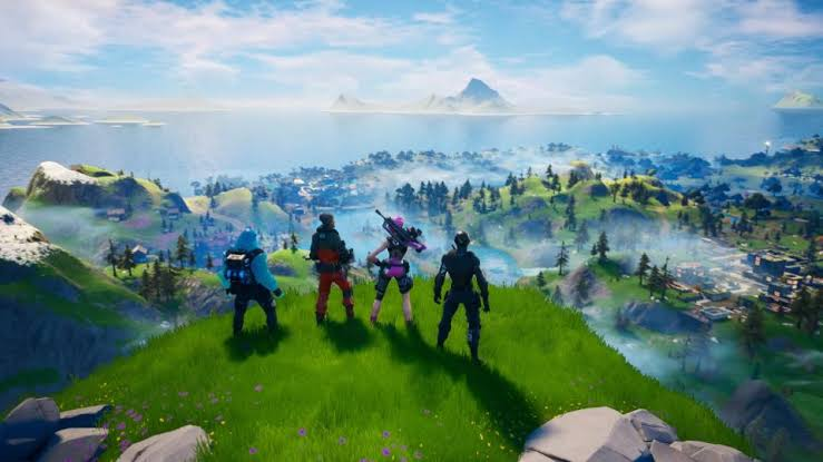 Fortnite Chapter 2 Update New Map Locations Skins New