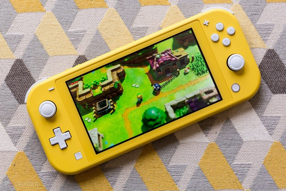 Nintendo switch lite 3ds games