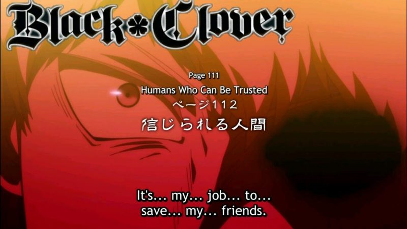 Black Clover Episode 112