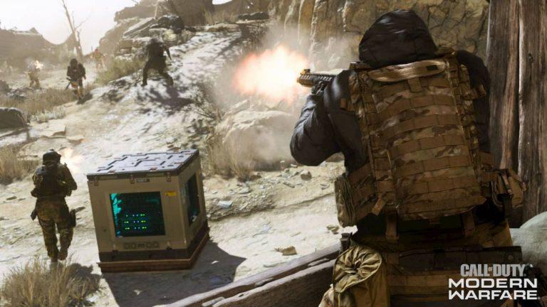 Call Of Duty Modern Warfare Weapons