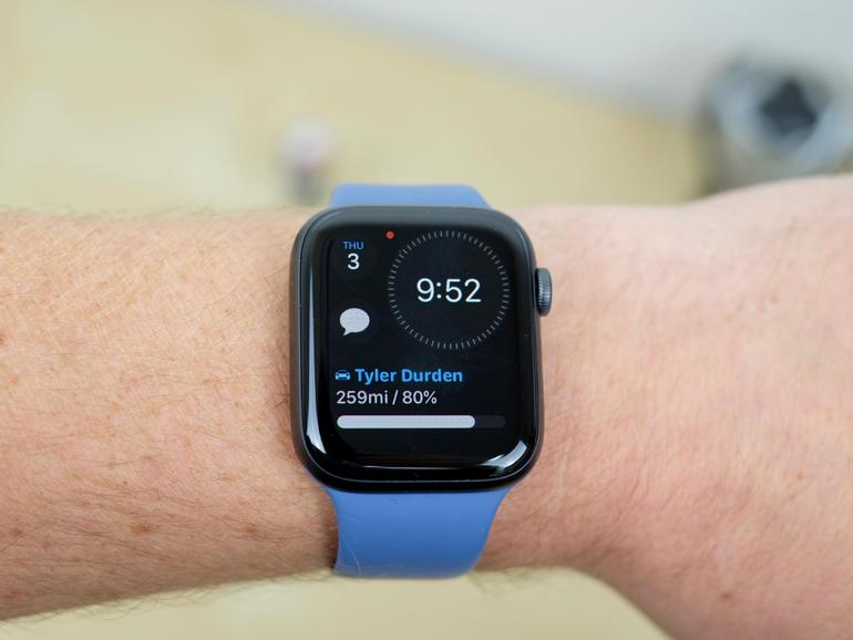 Apple Watch Series 6 update