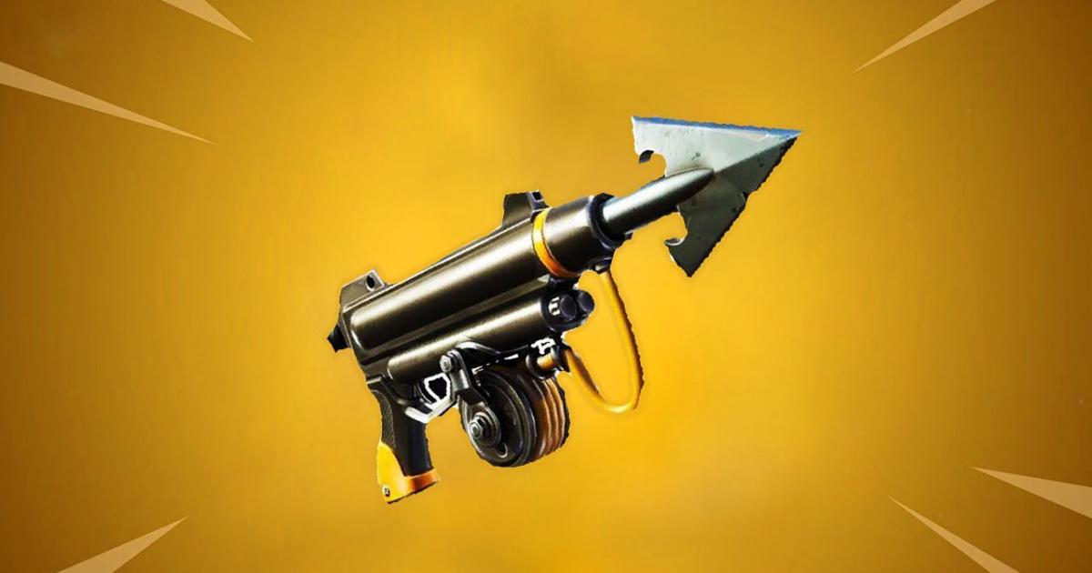 Harpoon Gun Fortnite