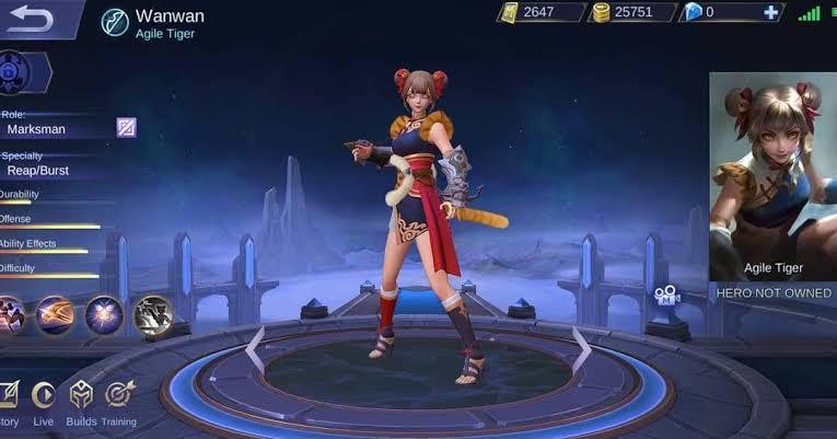 WanWan Mobile Legends update
