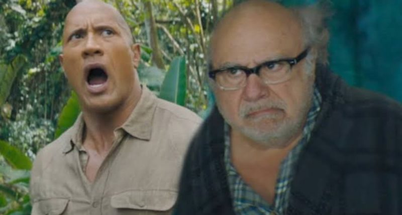 Danny Devito Dwayne Johnson