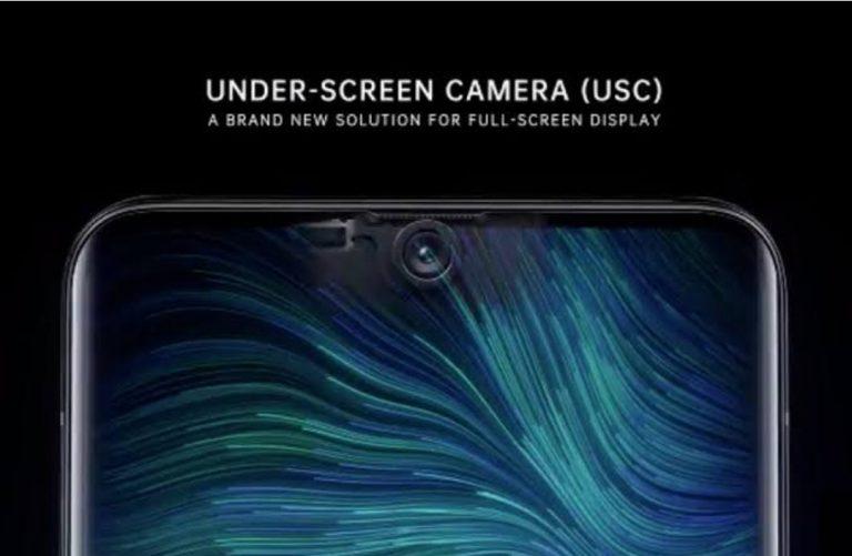 Oppo Under-screen camera