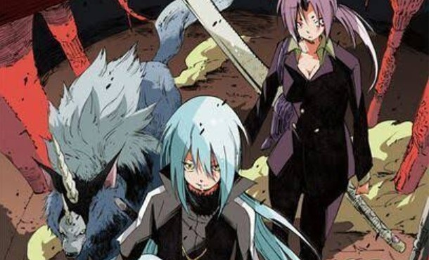 that time i got reincarnated as a slime manga