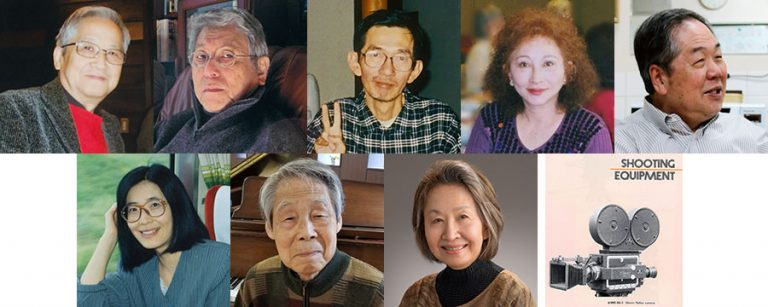 The recipients of the Lifetime Achievement Anime Award.