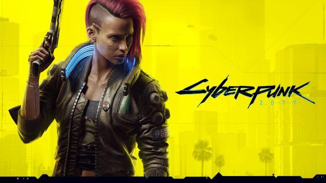 Cyberpunk 2077 female default character