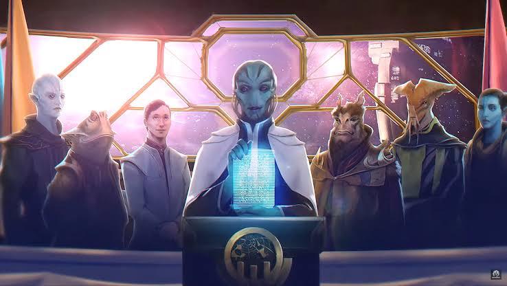 Stellaris Federations update