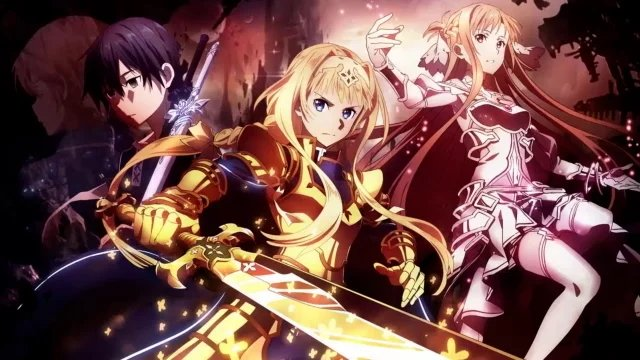 sword art online alicization stream