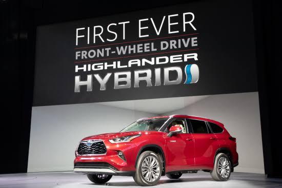 Toyota Highlander Hybrid (2020)