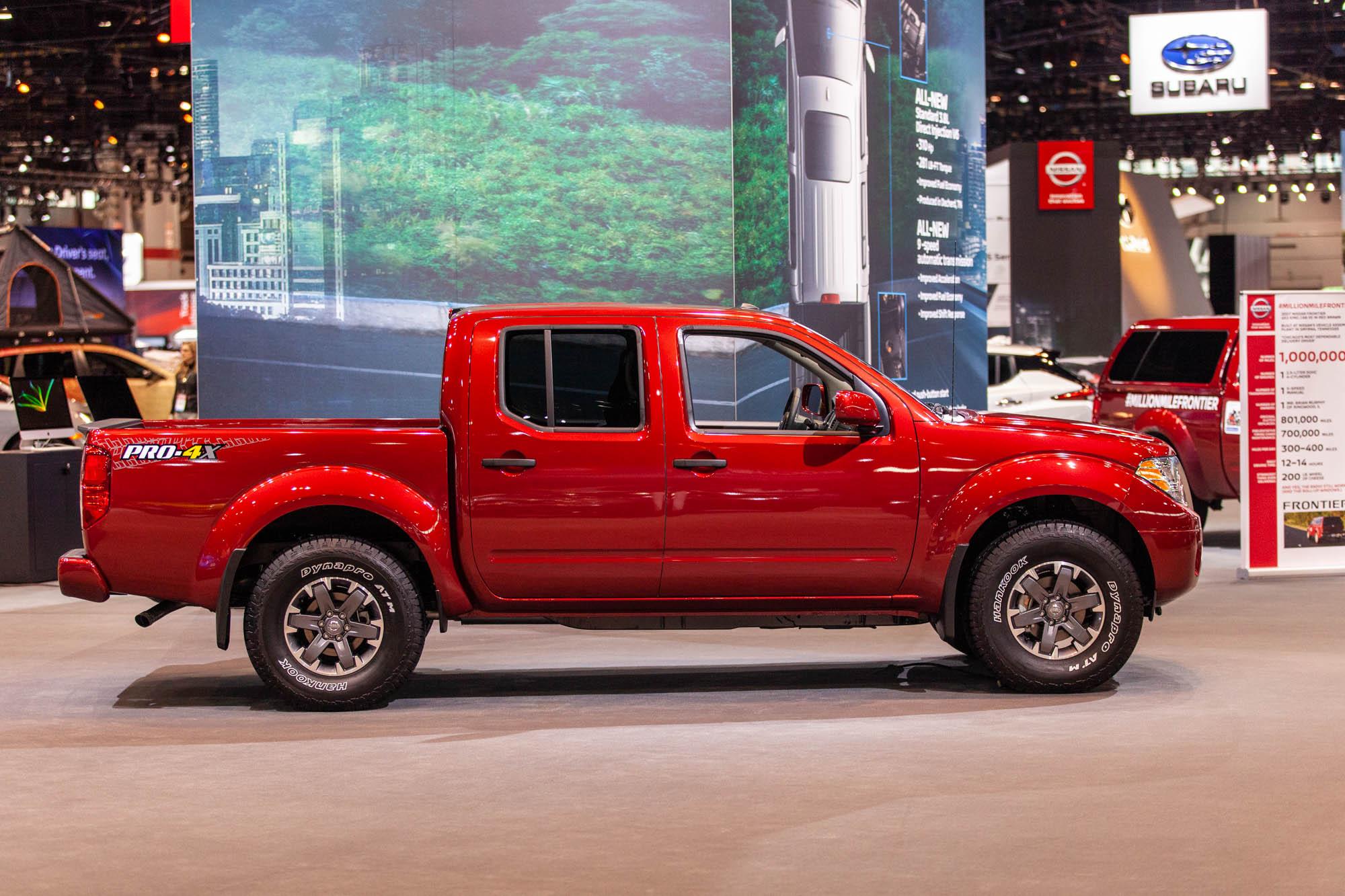 2020 Nissan Frontier update