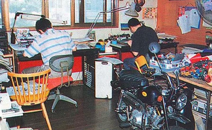 Akira Toriyama Car, Bike