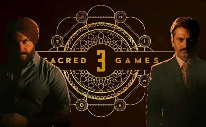 Sacred Games Season 3 update