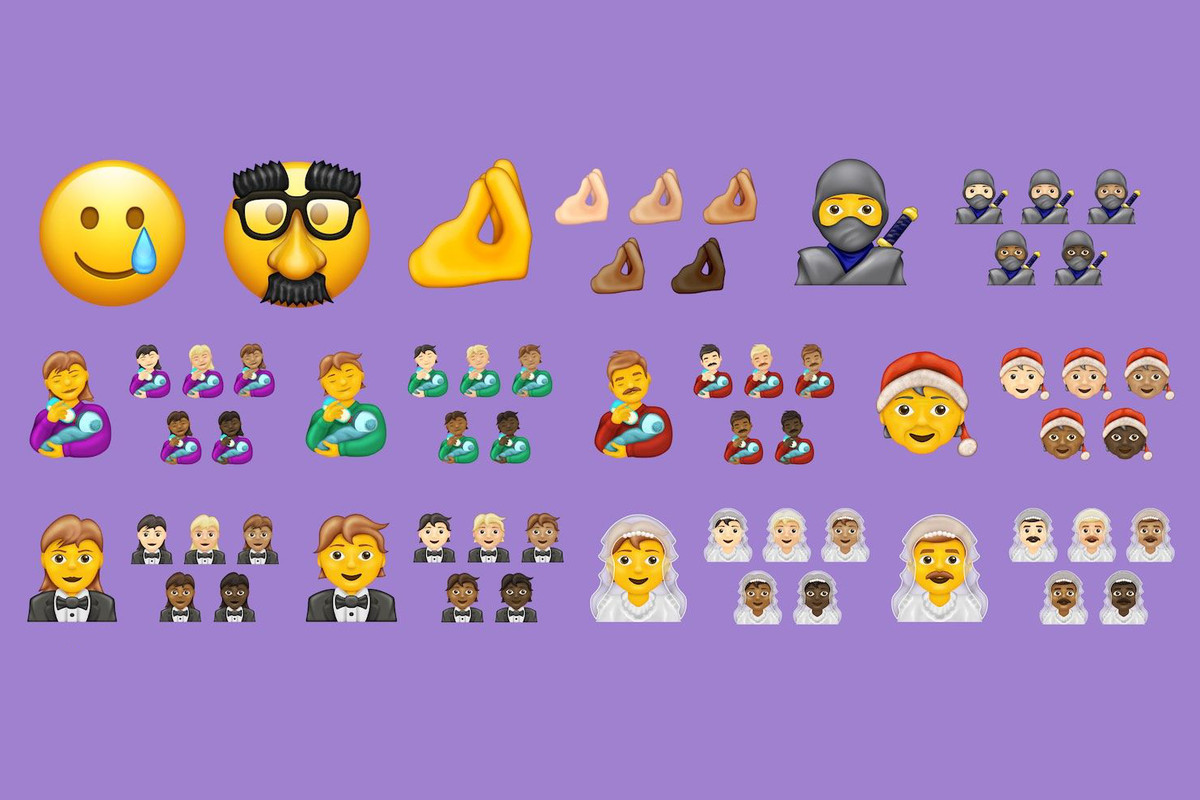 new Emojis 2020 update