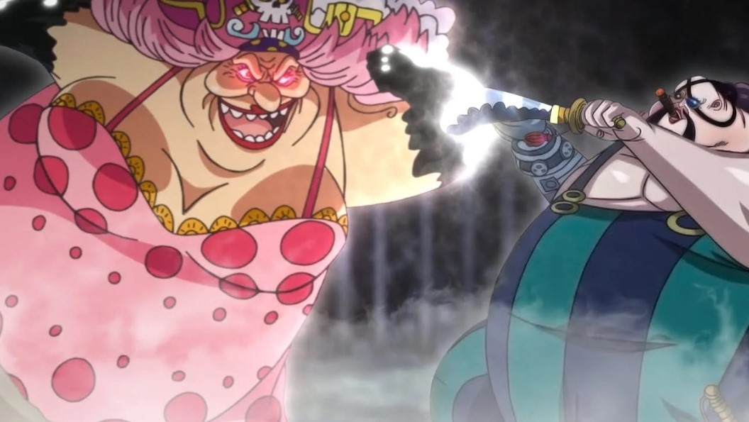 Big Mom vs Queen