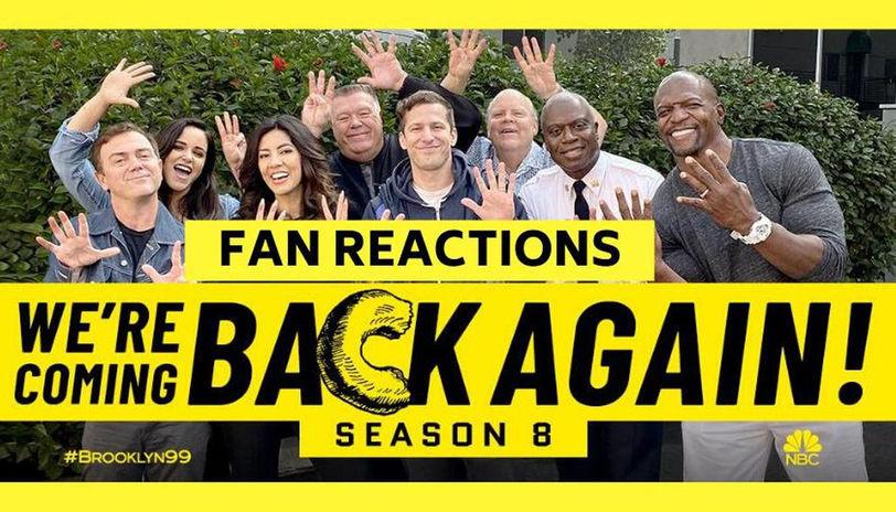 Brooklyn 99 Season 8 Casts