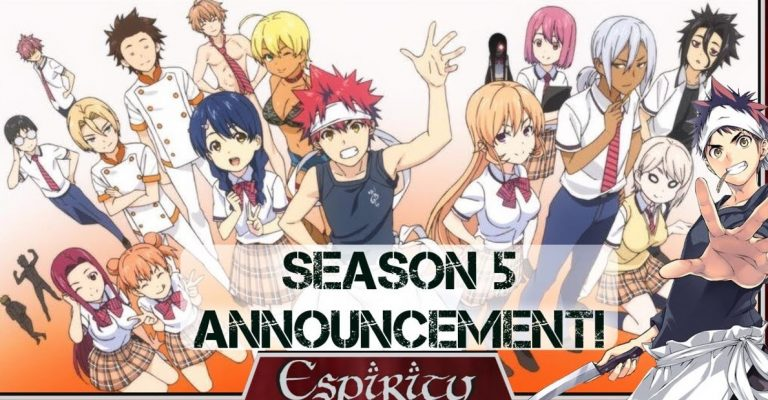 Food Wars! Season 5 Release date Production and Spoilers