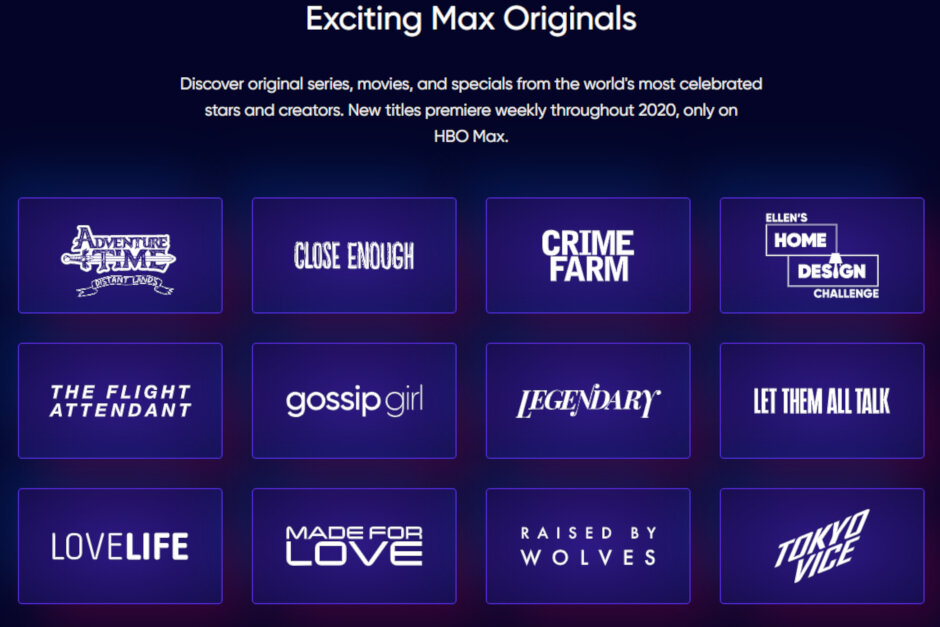 TV Shows Which Will Be Available on HBO Max