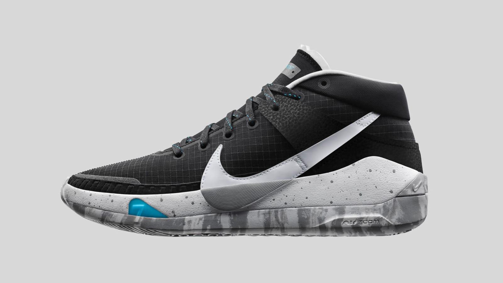 Nike KD13 Black/White-Grey