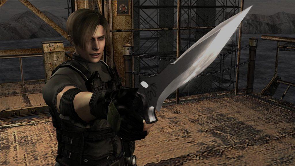 Resident evil 4 remake leon's knife