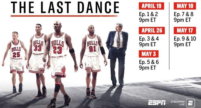 The Last Dance Episode Schedule