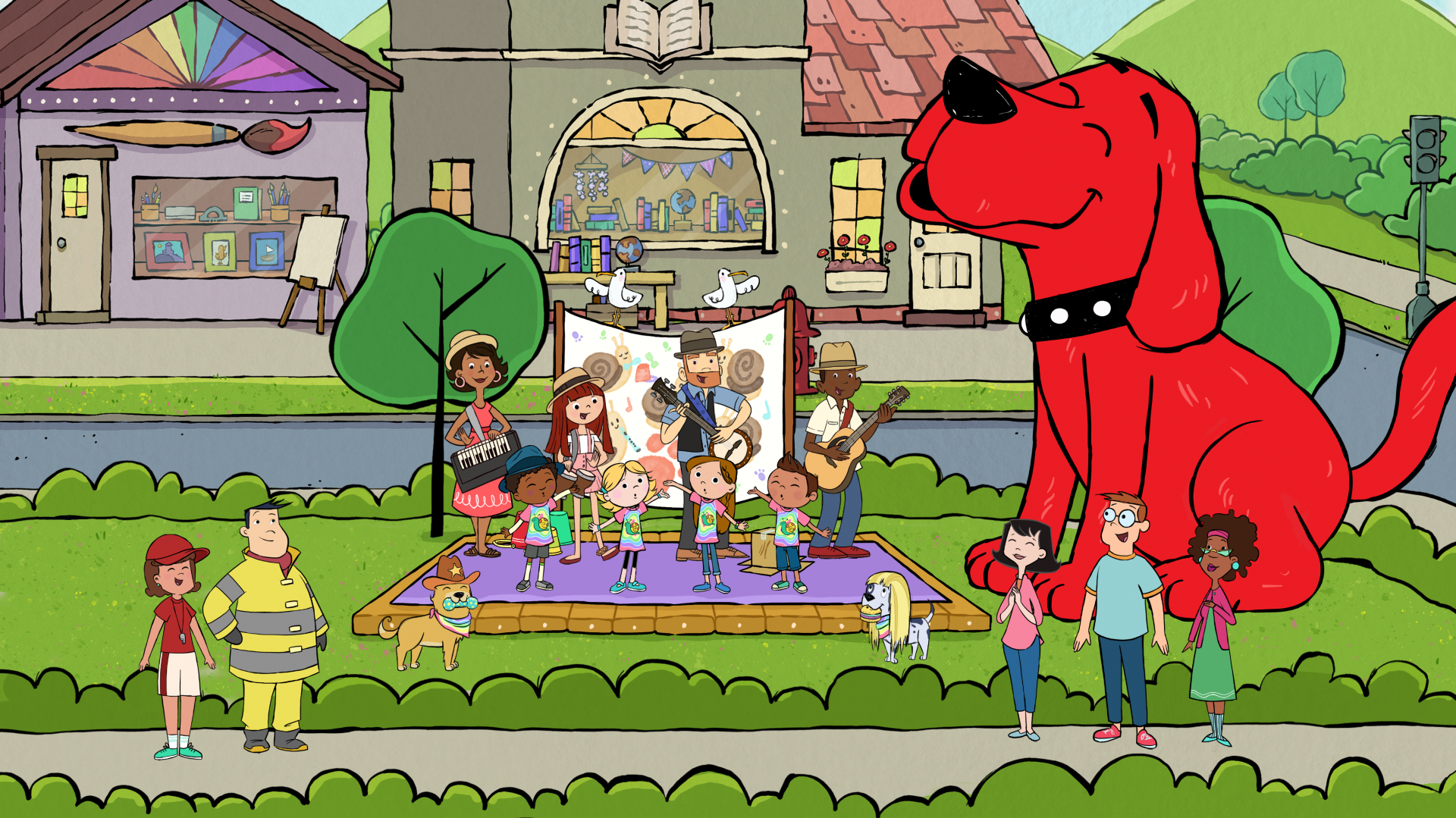 Clifford the Big Red Dog Characters