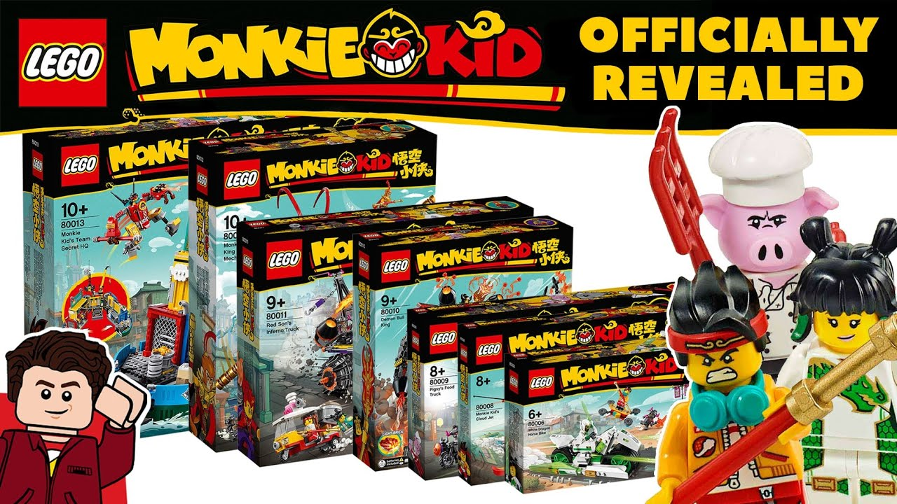 LEGO Monkie Kid Sets Finally Revealed