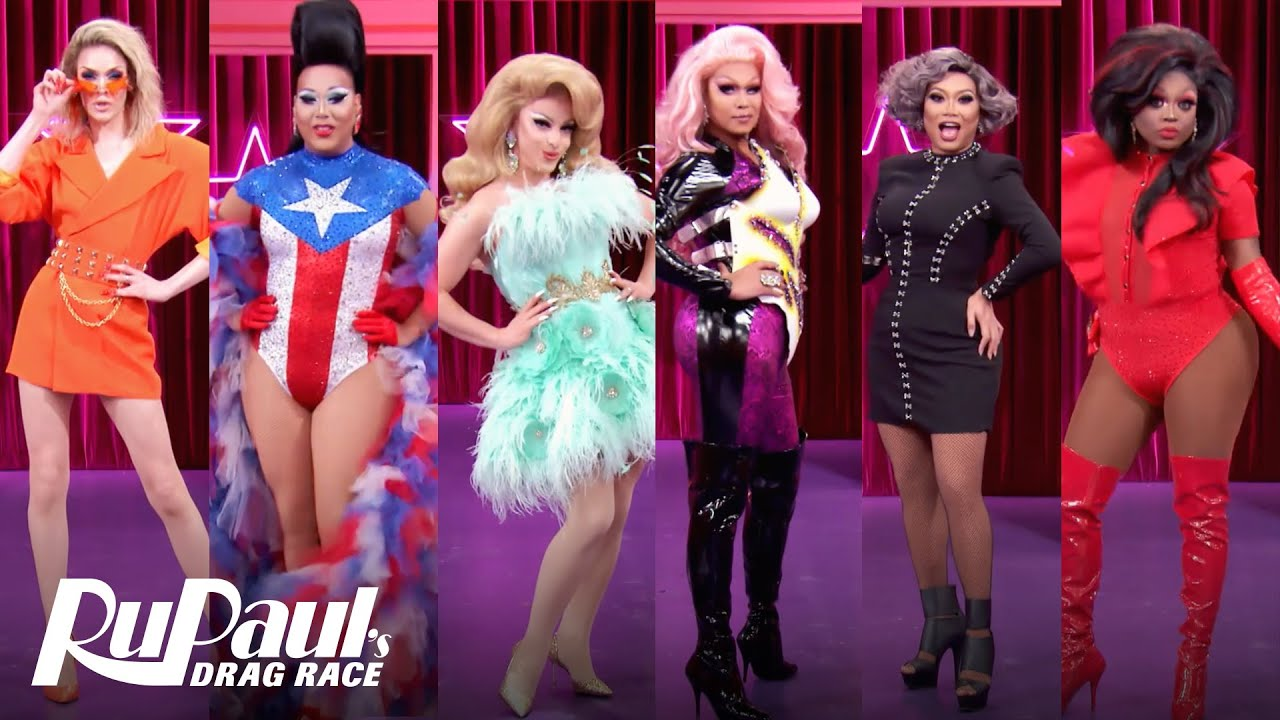 RuPaul's Drag Race All Stars Season 5 cast