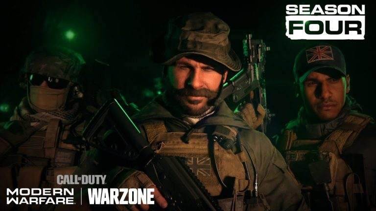 Call of Duty: Modern Warfare and Warzone Season 4 New Release Date